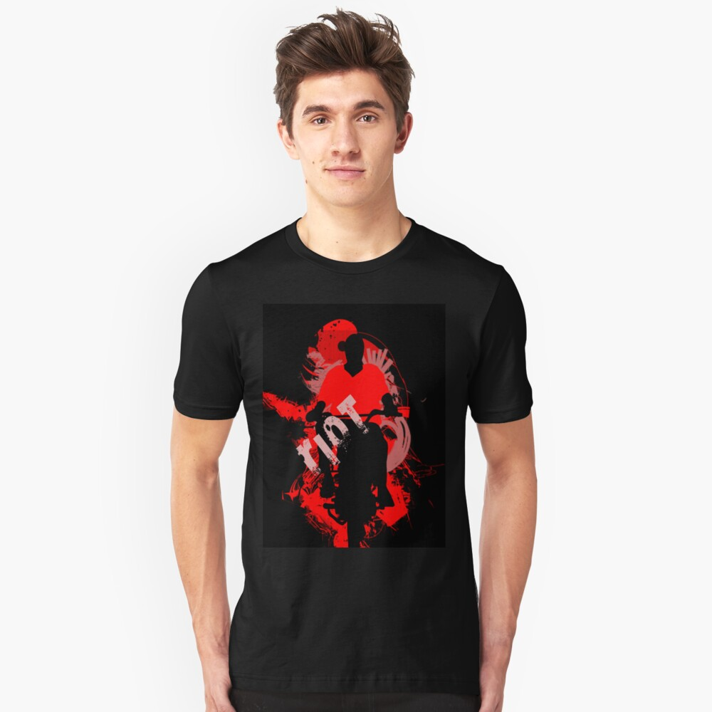 riot and ride Unisex T-Shirt Front