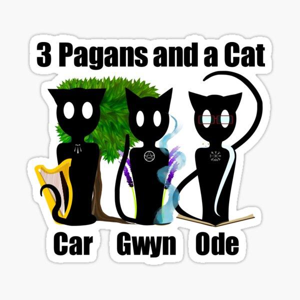 Family Cats Sticker