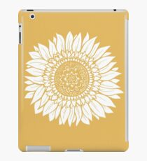 Yellow Flower Drawing Tapestry iPad Case/Skin