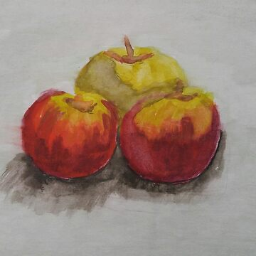 Watercolour of Apples by RiseAndConquer