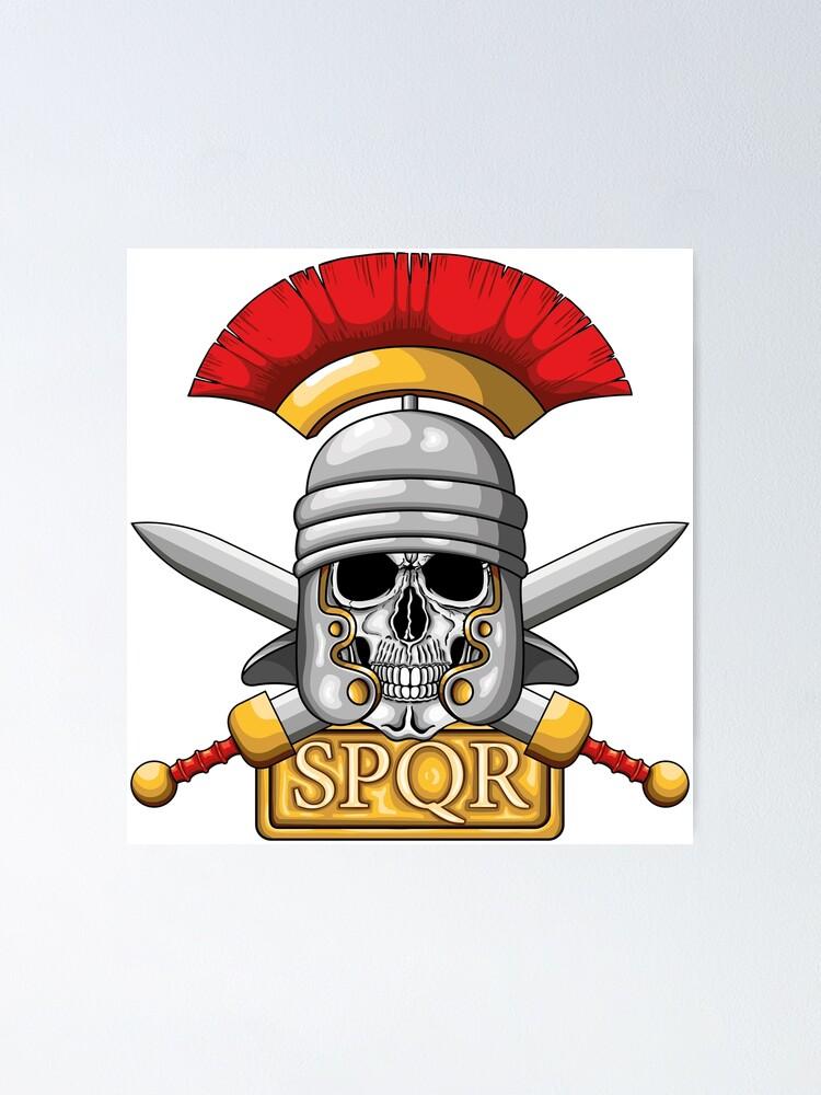 Roman Soldier Centurion Sword Giant Wall Art poster Print
