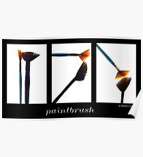 Paintbrush Poster