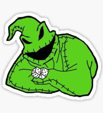 der Oogie Boogie Mann Sticker