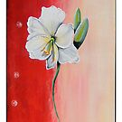 Floral Triptych 3 by Lisa Hill