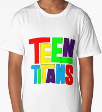 Teen Titans Multicolor Long T-Shirt