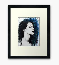Slow Tempo Feeling Framed Print