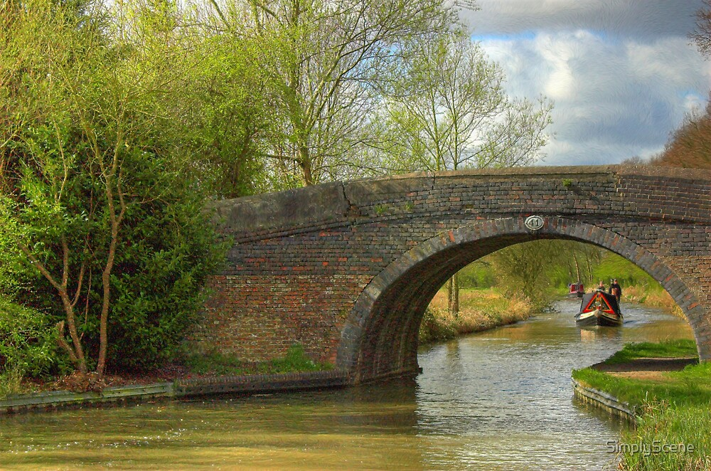 Bridge 41 Ashby Canal by SimplyScene