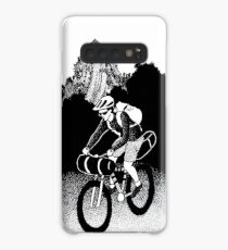 Bikepacking Pen and Ink Drawing Case/Skin for Samsung Galaxy