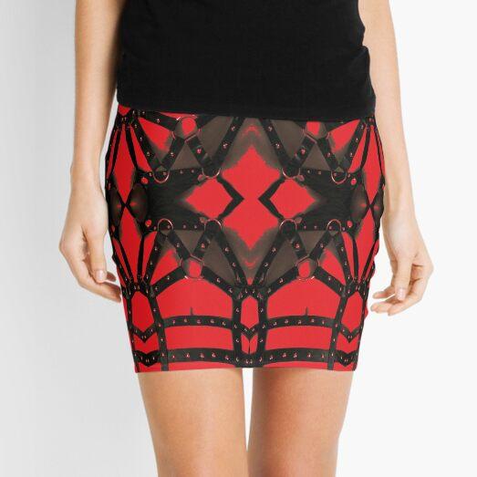 Ornament, ornamentation, form, shape, mold, uniform, format, decor Mini Skirt