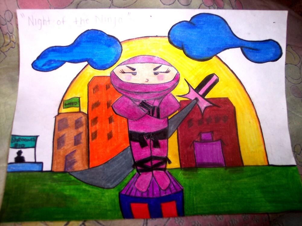 Ninja by mrzfantasic