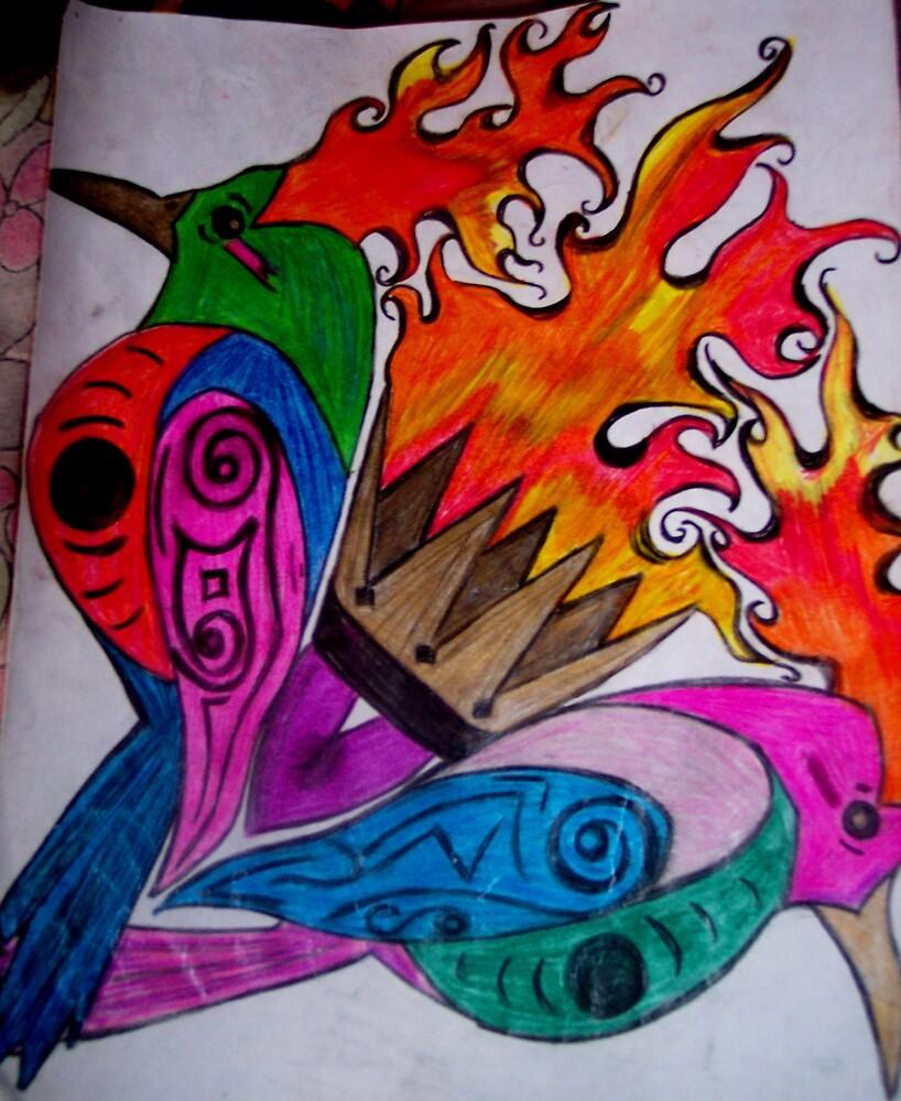 Firebird by mrzfantasic