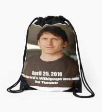 Todd Howard Wikipage Raid Meme Shirt Drawstring Bag