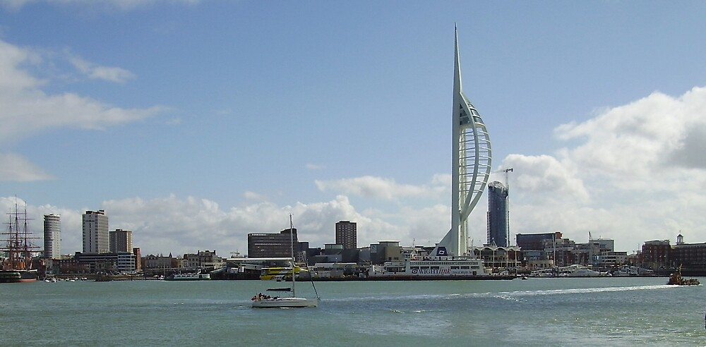 Spinnaker Tower Portsmouth by jonvin