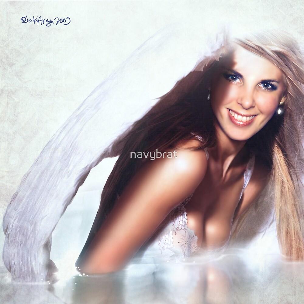 angel smile by navybrat