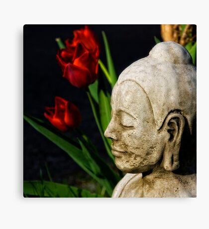 Springtime for Buddha Canvas Print