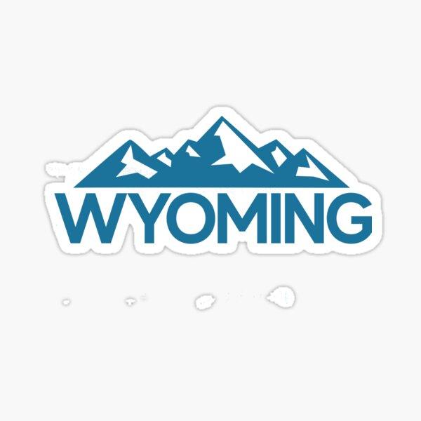 Wyoming Great For Wanderlust Travel Sticker