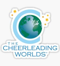 Cheerleading Worlds Sticker