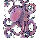 Chauncey Octopus by Elly Karipides