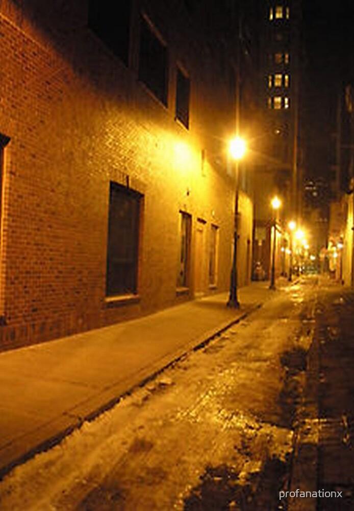 alleyway. by profanationx
