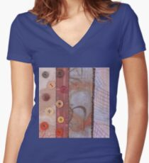 Spherical Science Women's Fitted V-Neck T-Shirt