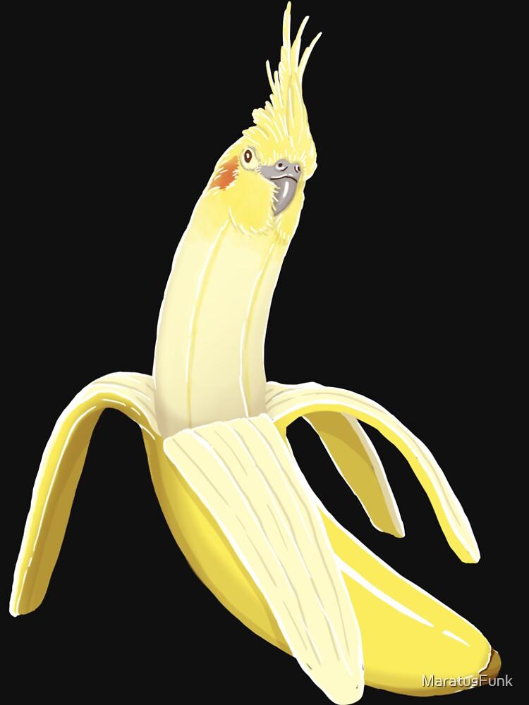 Bananaaaa! - Nymphensittich Bananenmuster von MaratusFunk
