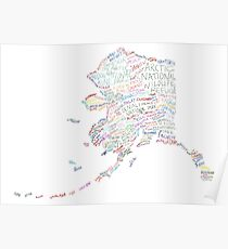 Alaska: Find Your Place Poster