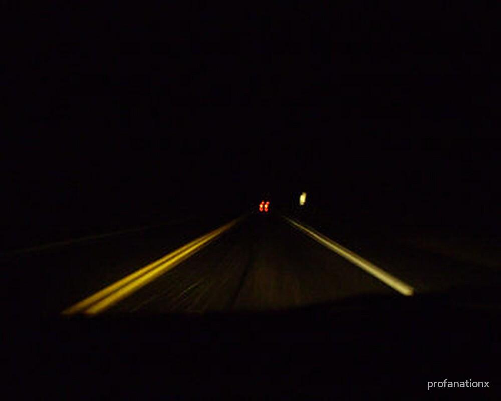 shiny roads take me home. by profanationx