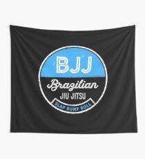 Slap Bump Roll for BJJ Brazilian Jiu Jitsu Fighters, MMA Wall Tapestry