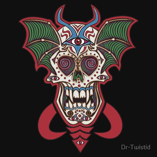 TShirtGifter presents: Undead Sugar Skull