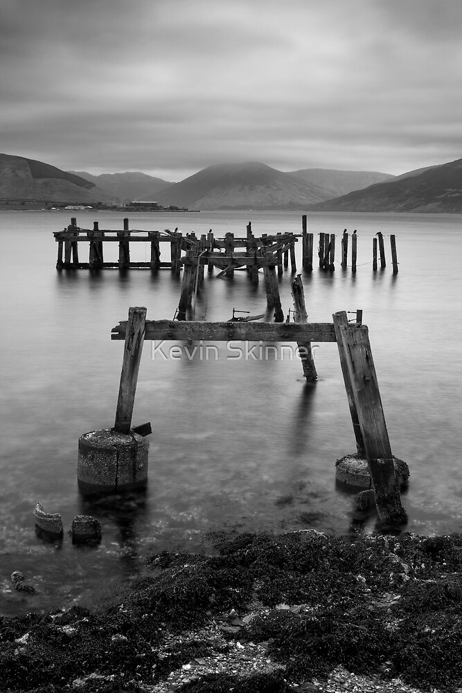 Over The Old Pier by Kevin Skinner