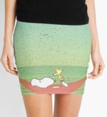 snoopy beach Mini Skirt