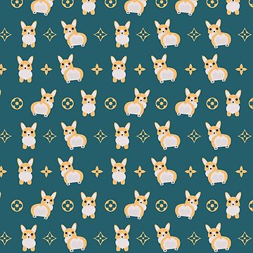 Corgi Dog Pattern Iphone Android Phone Cases Corgi Pattern Phone Case by spectramynd