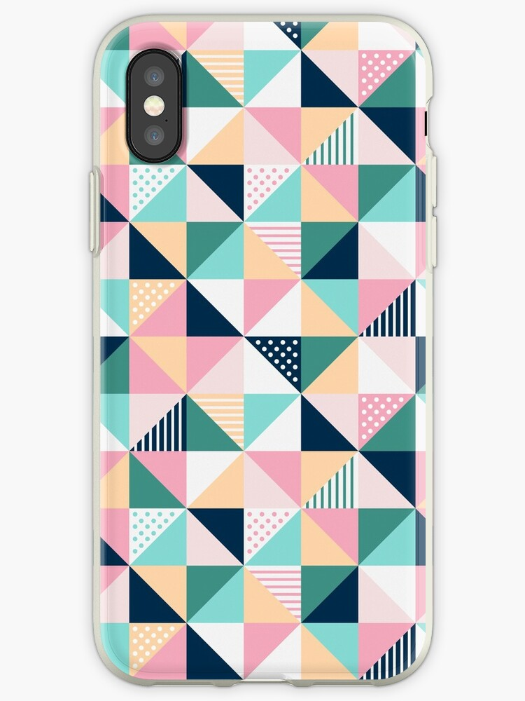 best service 1ade4 9a262 'Geometric Pattern colorful Iphone Android Phone Cases Geometric Pattern  Phone Case' iPhone Case by Makx Media