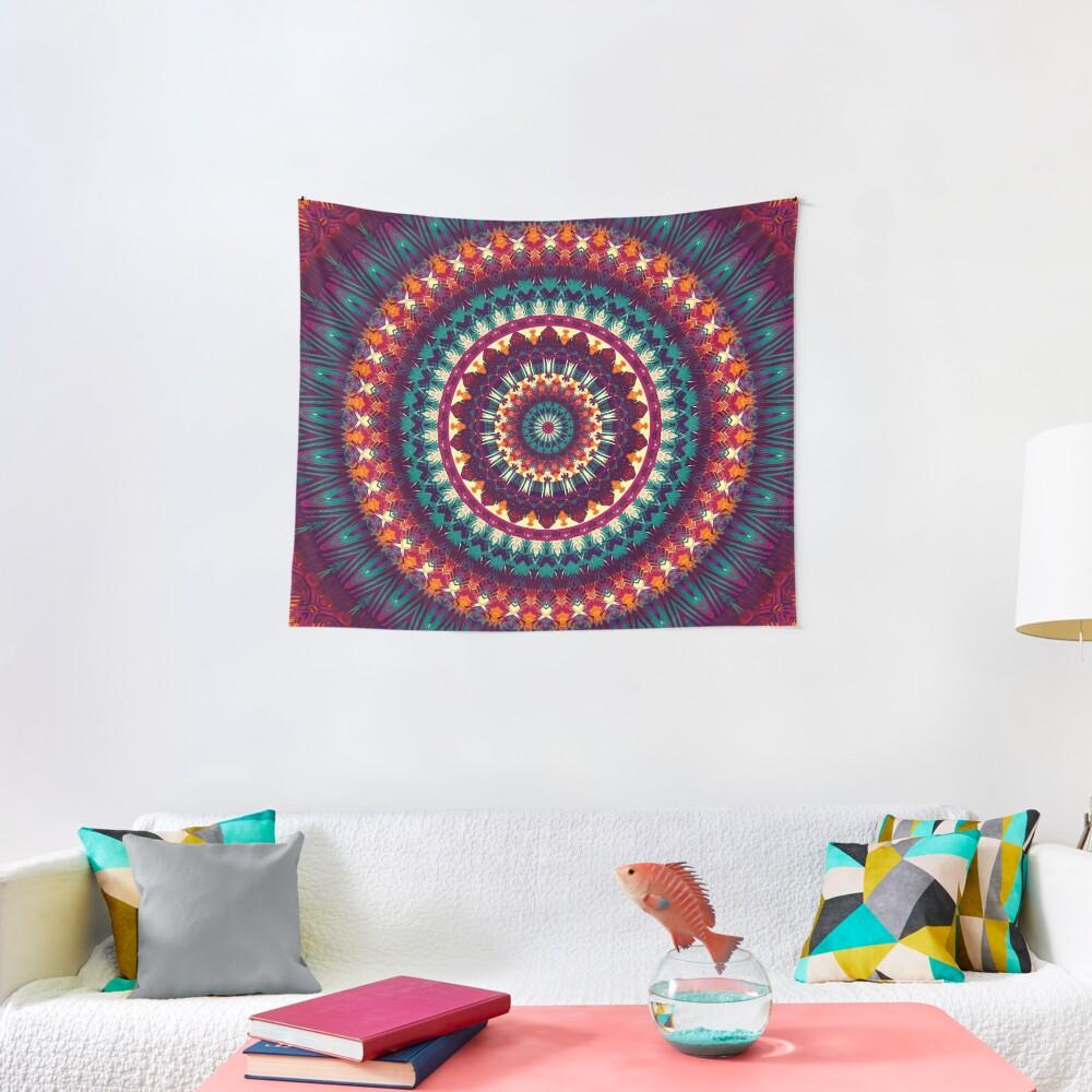 Mandala 81 Tapestry