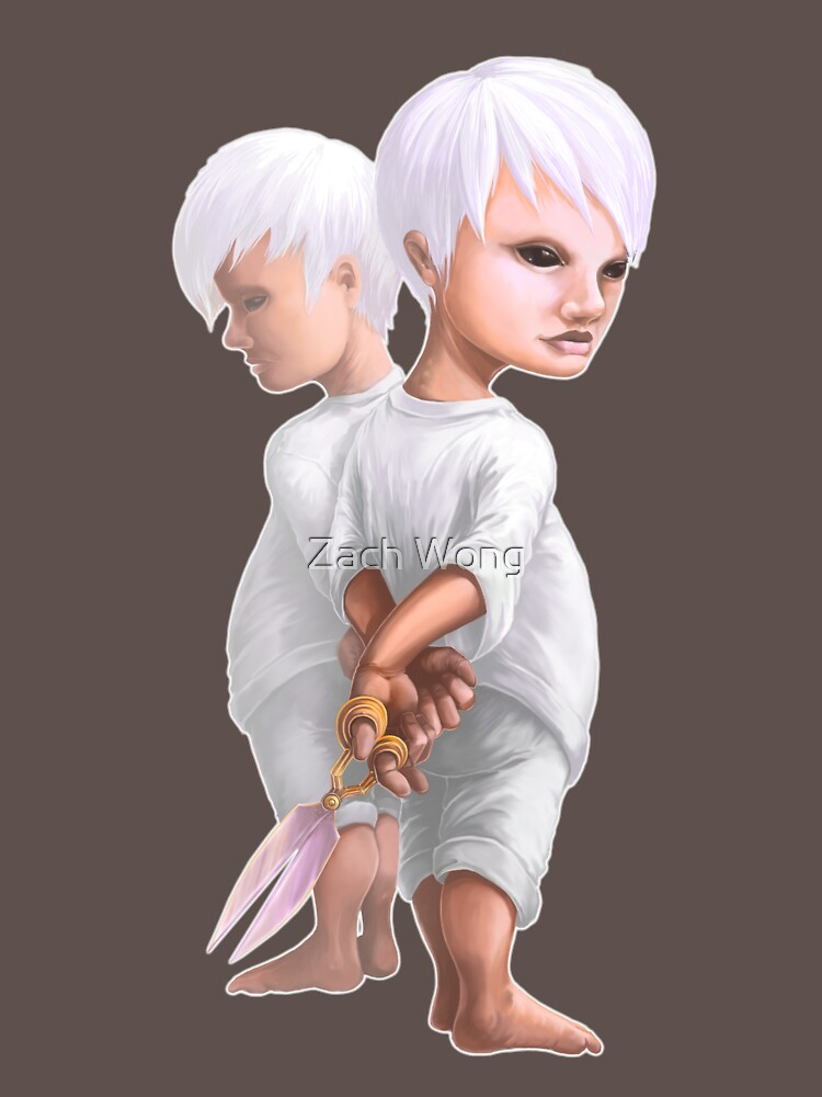 Scissors Game by zachwong