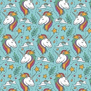Unicorn Pattern Iphone Android Phone Cases Unicorn Pattern Phone Case by spectramynd