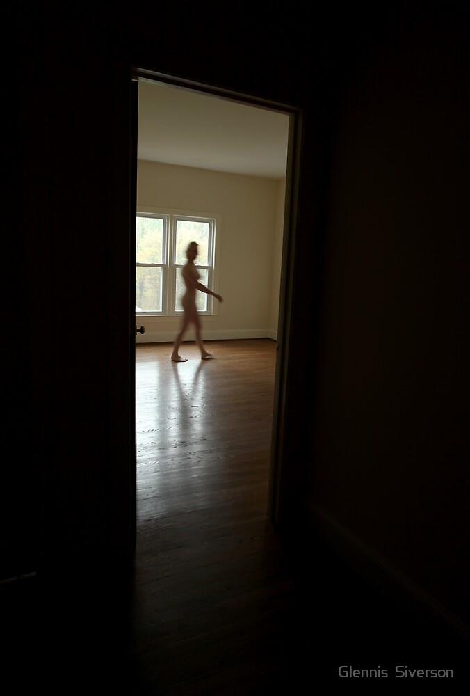 Walking Nude by Glennis  Siverson