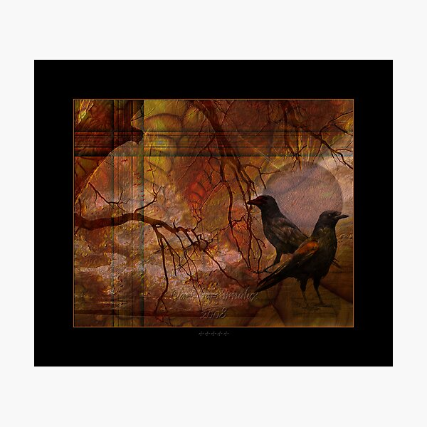 Ravens' World Photographic Print