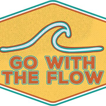 Go With the Flow - Vintage Design by ericbracewell