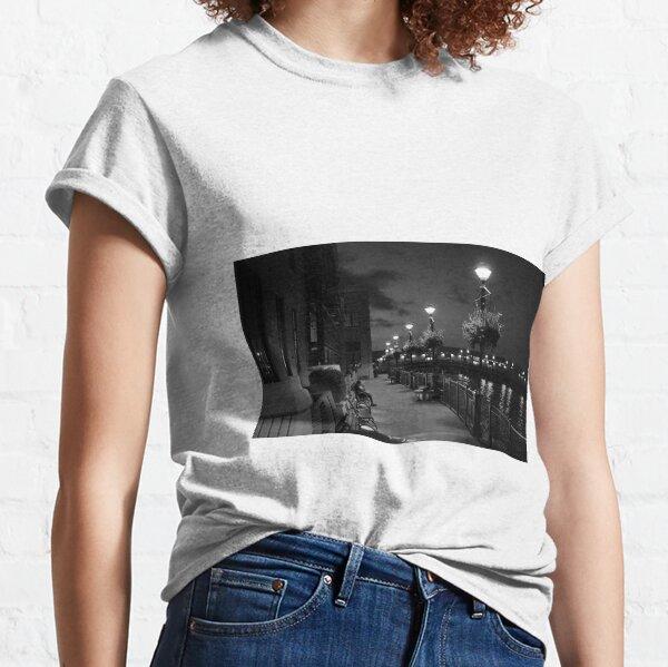 Man on Bench Classic T-Shirt