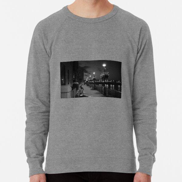 Man on Bench Lightweight Sweatshirt