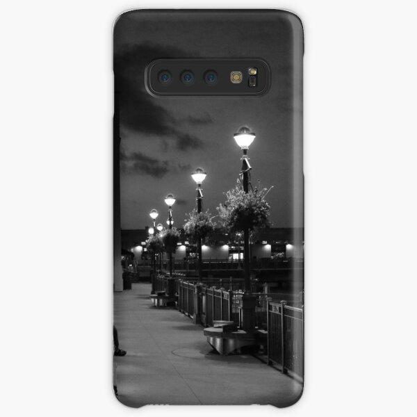 Man on Bench Samsung Galaxy Snap Case