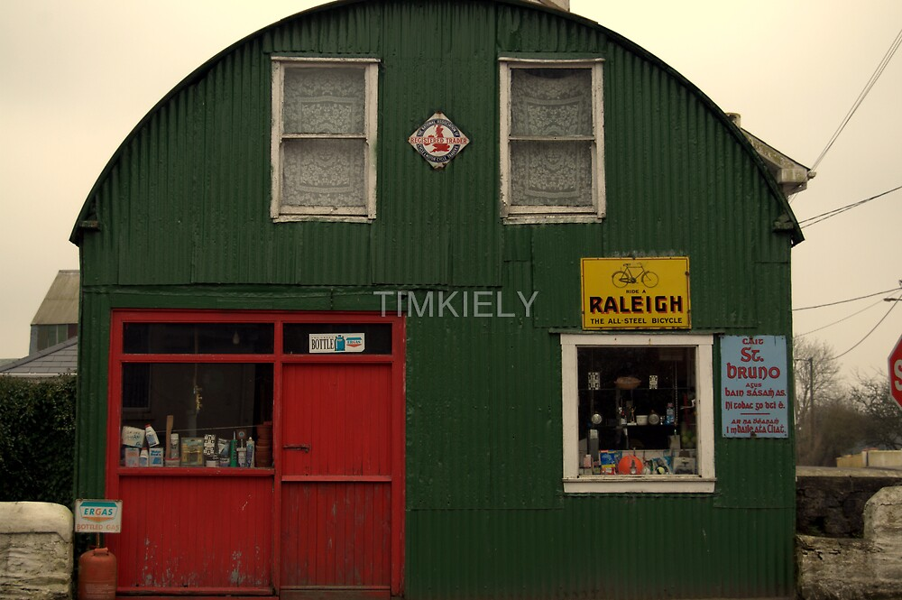 OLD SHOP FRONT  by TIMKIELY
