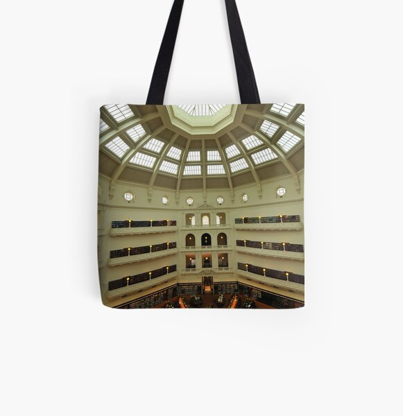 State Library of Victoria All Over Print Tote Bag