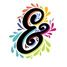 Colorful Ampersand by Michelle Tam