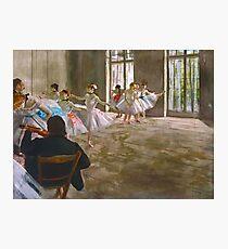 Dancers in Studio Photographic Print