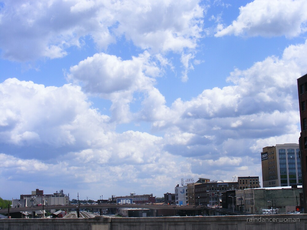 Blue Sky over Knoxville by raindancerwoman