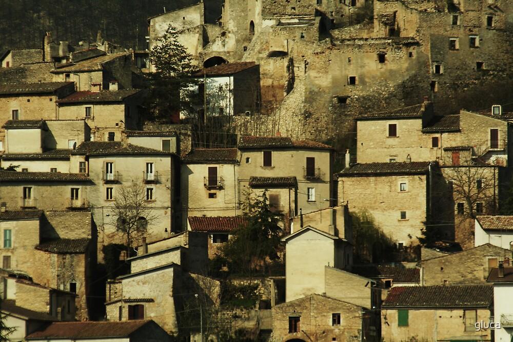 Navelli village by gluca