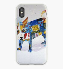 The Patchwork Dog iPhone Case