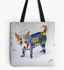 The Patchwork Dog Tote Bag